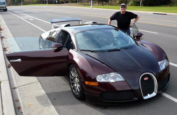 Driving the $1.8 Million Bugatti Veyron... That I Can't Afford...