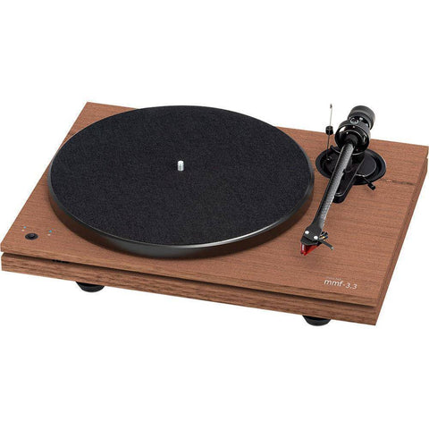 Music Hall MMF-3.3SE Walnut Turntable