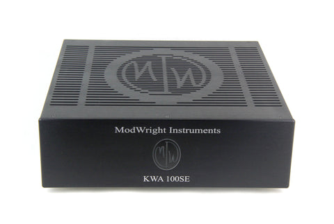 Modwright KWA 100SE Stereo Power Amplifier (USED)
