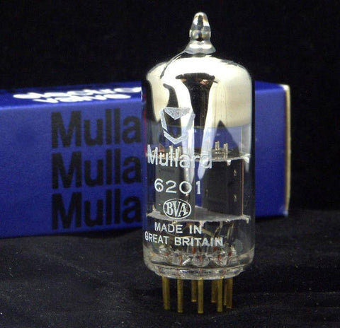 Mullard 6201 Vintage British New Old Stock