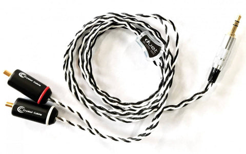Crystal Cable Duet for Focal Utopia Headphones