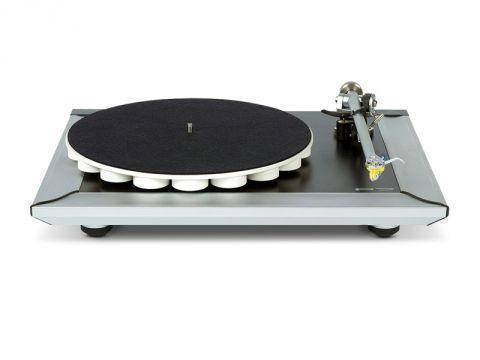 Rega P7 Turntable, Silver (No Cartridge)
