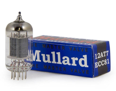 Mullard New Production 12AT7 / ECC81
