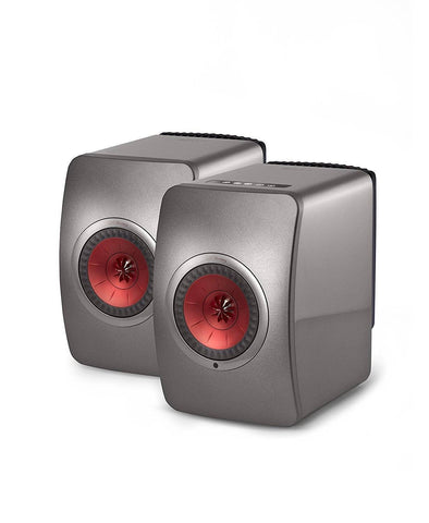 KEF LS50 Wireless Active Bookshelf Loudspeakers