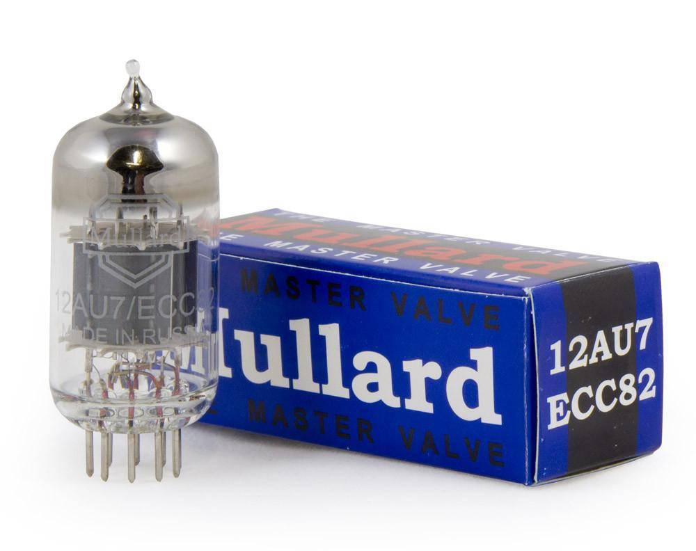 Mullard New Production 12AU7 / ECC82