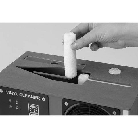 Audio Desk Vinyl Cleaner Machine Microfiber Barrels (Set of four)