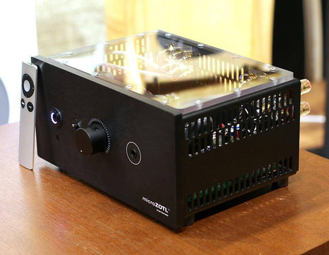 Linear Tube Audio MZ2-S Headphone Amp & Preamp w/ Linear Power Supply