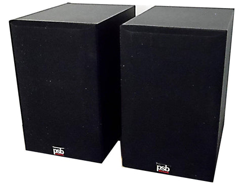 PSB Alpha Mite Loudspeakers, Black (pair, OPEN)