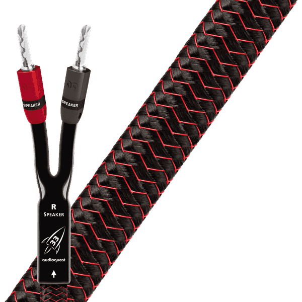 AudioQuest Rocket 33 Speaker Cable Pair