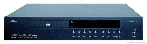 Arcam FMJ DV79 DVD-Player, Black