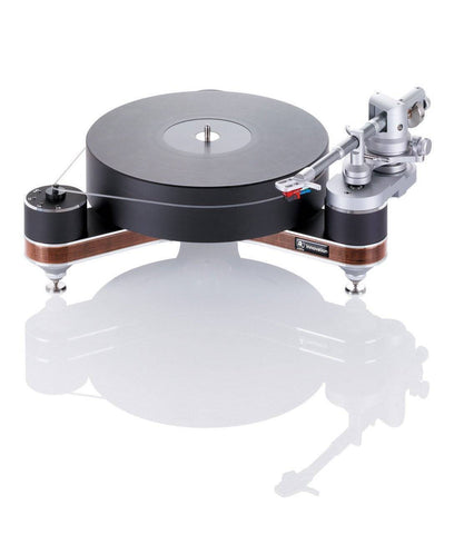 "Clearaudio Innovation Compact Wood with Universal 9"" Tonearm"