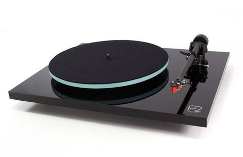 Rega P2 Turntable with Bias 2 Cartridge, Black