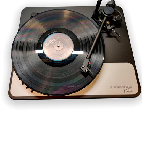 Dr. Feickert Volare Turntable with Jelco Tonearm & Easy VTA Tower - Upscale Audio Exclusive!