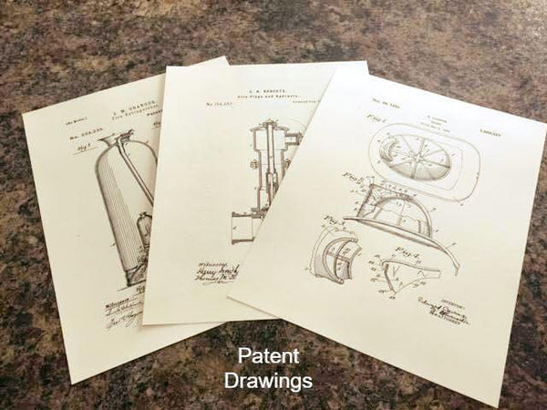 Unique PATENT DRAWINGS