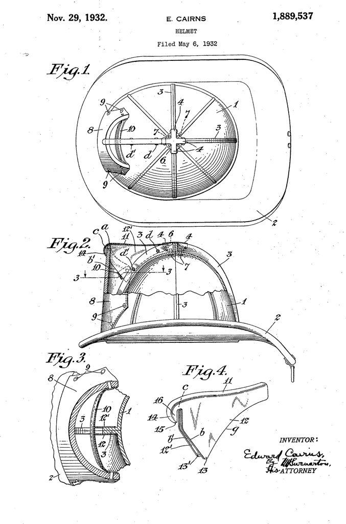 Patent Black Shoe Firefighter