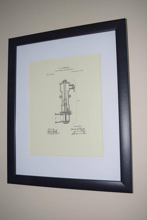 Original Patent Drawing: HYDRANT