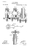 Original Patent Drawing: SPRINKLER HEAD