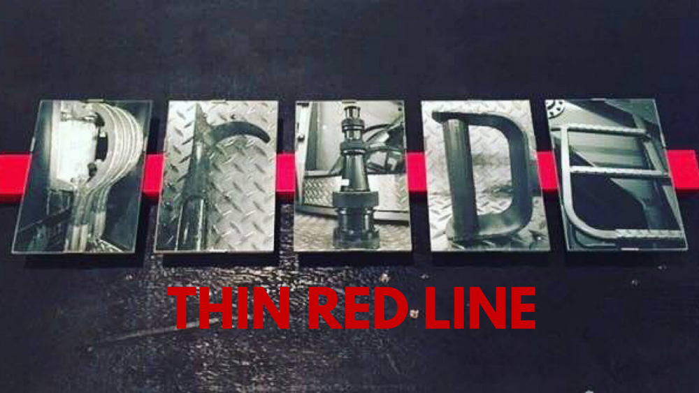 The Thin Red Line Frame Order Form