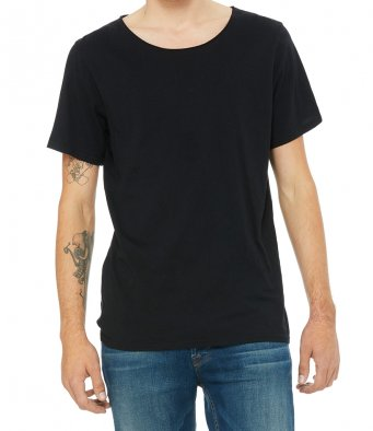Bella + Canvas Unisex Raw Neck T-Shirt
