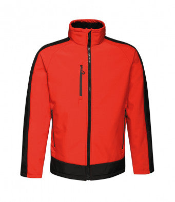 Regatta Contrast Three Layer Printable Soft Shell Jacket