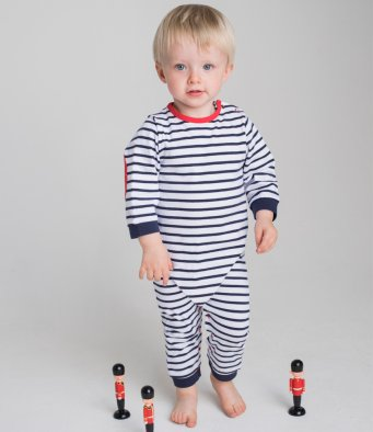 Baby Long Sleeve Striped Bodysuit