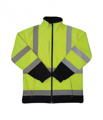 Warrior Iowa Hi-Vis Soft Shell Jacket