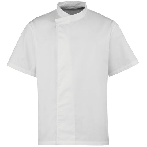 Premier Culinary pull-on chef's short sleeve