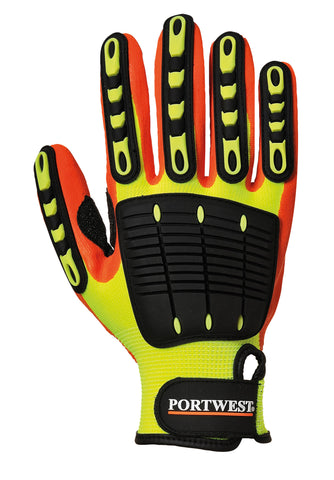 Anti-impact grip glove