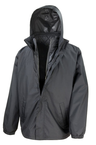 Core 3-in-1 jacket with quilted