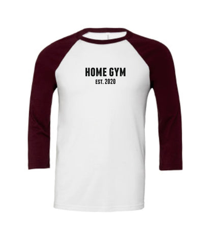 Unisex Home Gym Est. 2020 Baseball Tee