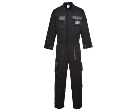 Exo contrast coverall