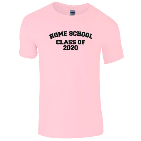Adults Home School Class of 2020  T-Shirt