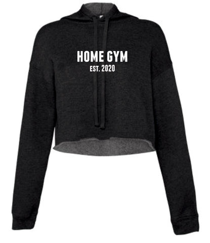 Home Gym Est. 2020 Cropped Hoody