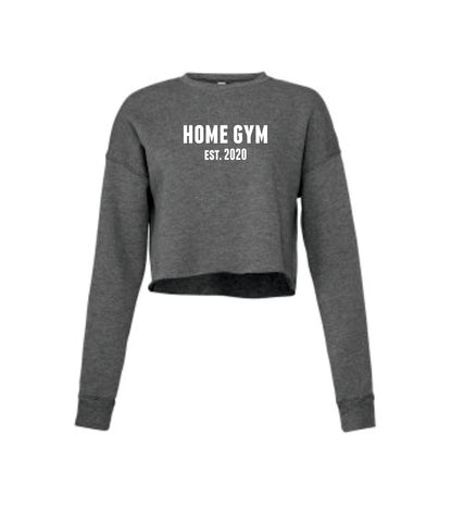 Home Gym Est. 2020 Cropped Sweatshirt