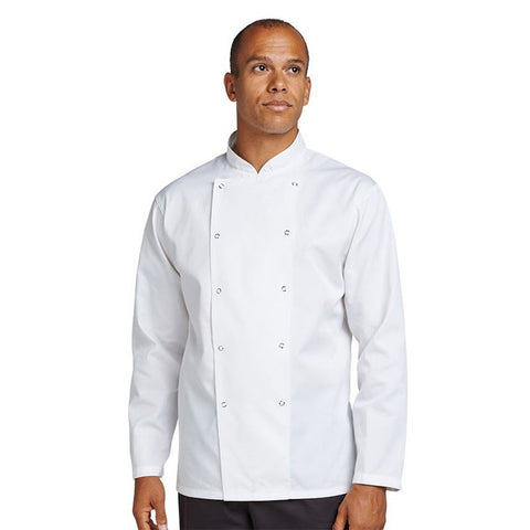 Denny Chef's kit jacket with press stud