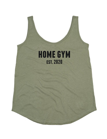 Ladies Loose Fit Home Gym Est. 2020 Vest