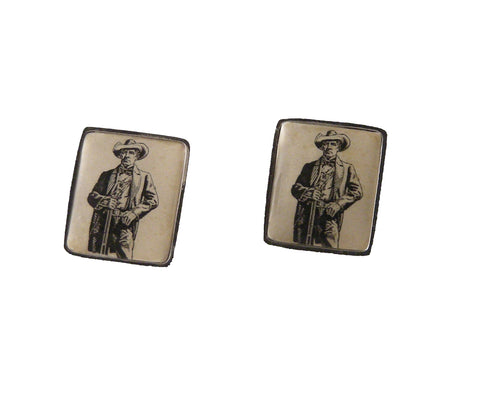 1964 sam houston postage stamp cufflink new orleans cufflinksans cufflinks