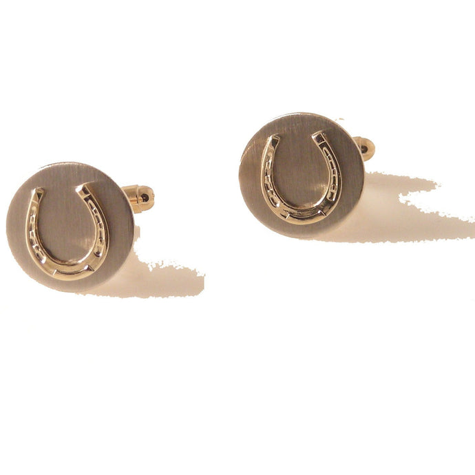 horseshoe cufflinks new orleans cufflinks