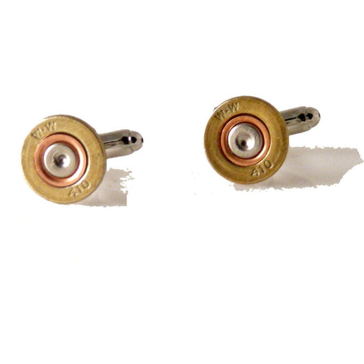 AUTHENTIC 410 SHOTGUN SHELL CUFFLINKS New Orleans Cufflinks