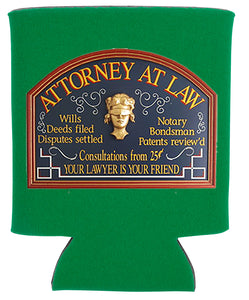 ATTORNEY AT LAW KOOZIE NEW ORLEANS CUFFLINKS