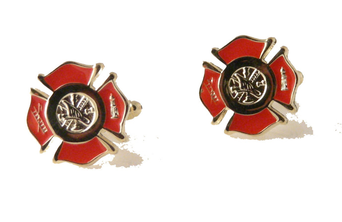 firefighter cufflinks  new orleans cufflinks