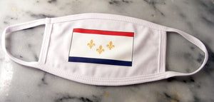 new orleans flag mask  new orleans cufflinks