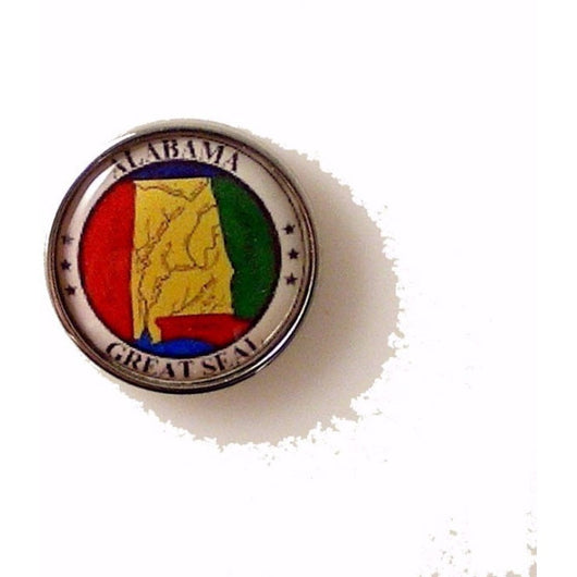 ALABAMA STATE SEAL LAPEL PIN New Orleans Cufflinks