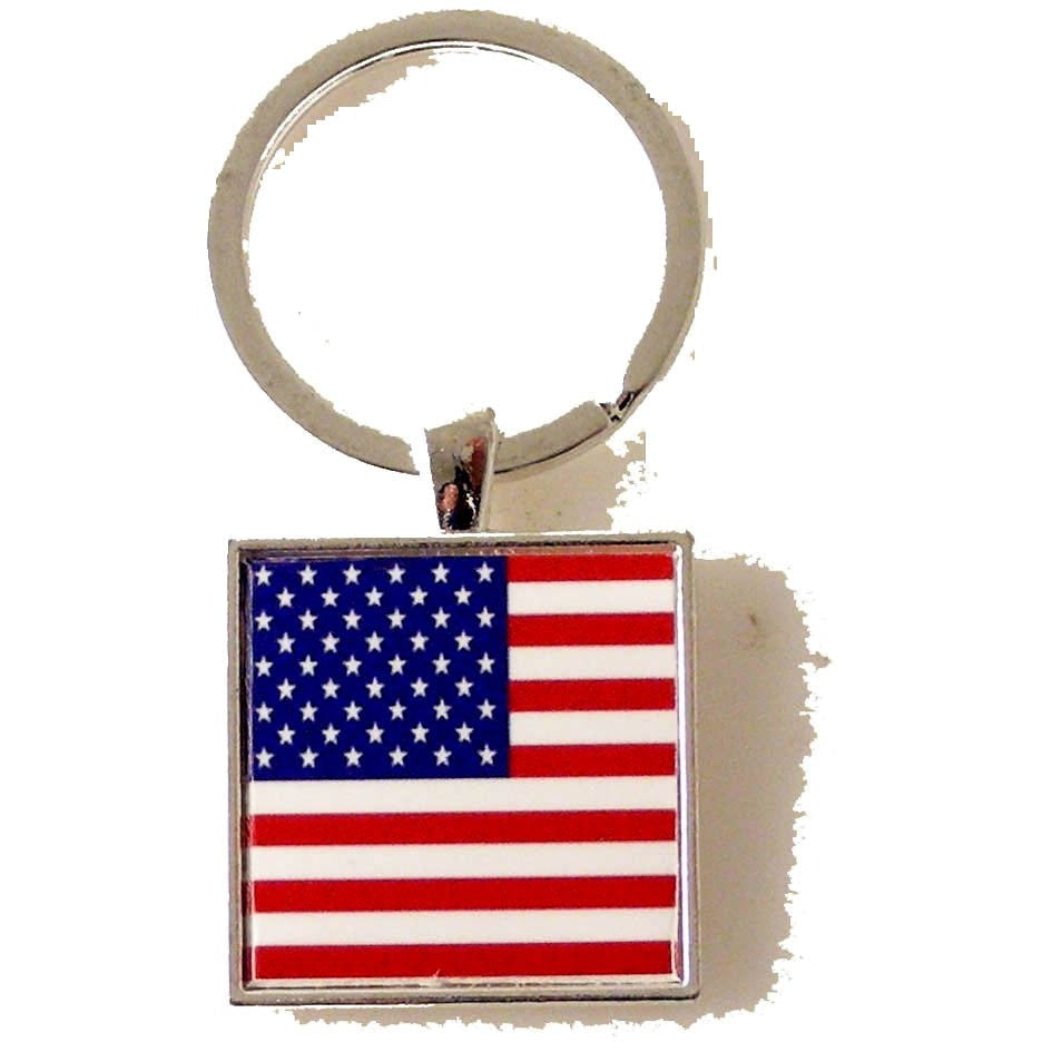 AMERICAN FLAG KEY RING New Orleans Cufflinks