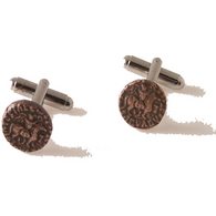 AUTHENTIC AZES II BRONZE DRACHMA CUFFLINKS New Orleans Cufflinks