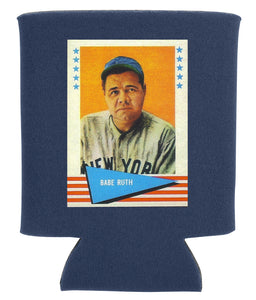 BABE RUTH BASEBALL CARD KOOZIE NEW ORLEANS CUFFLINKS