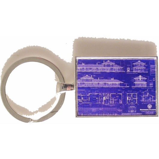 BLUE PRINT KEY RING New Orleans Cufflinks