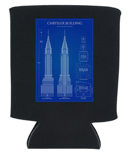 BLUE PRINT KOOZIE NEW ORLEANS CUFFLINKS