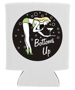 bottoms up koozie new orleans cufflinks