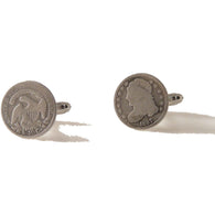 AUTHENTIC CAPPED BUST DIME CUFFLINKS New Orleans Cufflinks